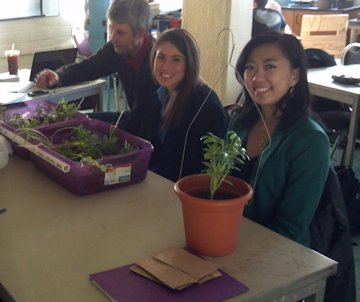 Some of the URI Honors class agricultural projects